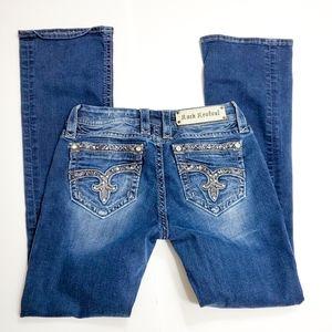 Rock Revival Jazlyn Bootcut Jeans Size 28
